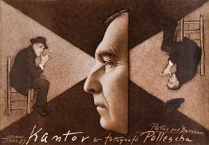 Tadeusz Kantor in den Fotografien von Pollesch Mieczysław Górowski Polnisches Ausstellungsplakat