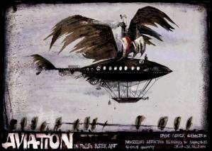 Aviation Polnisches Luftfahrtmuseum Krakau Ryszard Kaja Polnisches Plakat