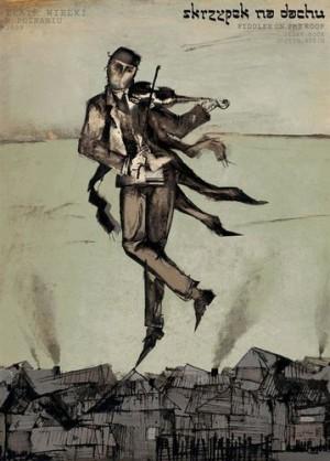 Anatevka Ryszard Kaja Polnisches Opernplakat