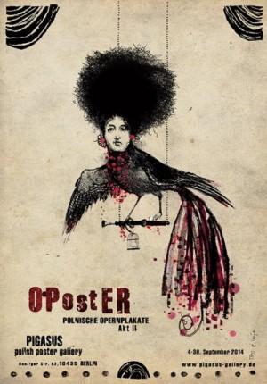 OPostER polnische Opernplakate Ryszard Kaja Polnisches Ausstellungsplakat