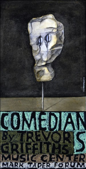 Comedians and Trevor Griffiths Music Center Leonard Konopelski Polnisches Musikplakat