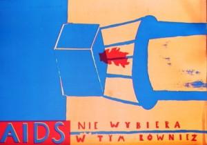 Aids 1 Sebastian Kubica Polnisches Plakat