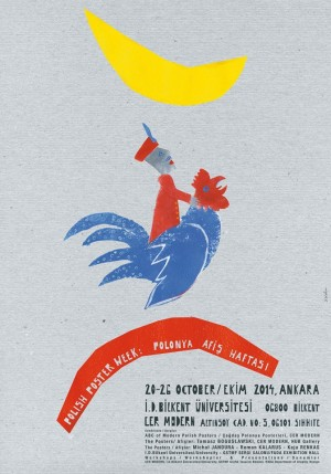 Polish Poster Week Ankara Sebastian Kubica Polnisches Ausstellungsplakat