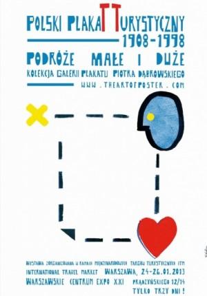 Polnisches Tourismusplakat Sebastian Kubica Polnisches Ausstellungsplakat