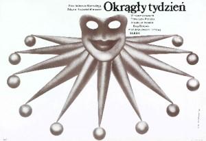 Eine Woche Lang Tadeusz Kijański Lech Majewski Polnische Plakate