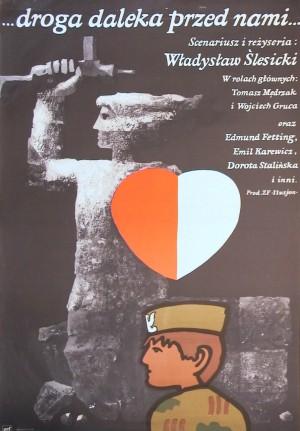 A Long Way to Go Jan Młodożeniec Polnisches Filmplakat