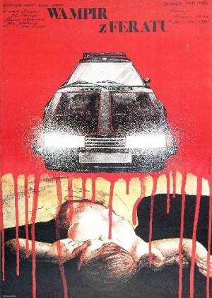 Autovampir Juraj Herz Andrzej Pągowski Polnische Plakate