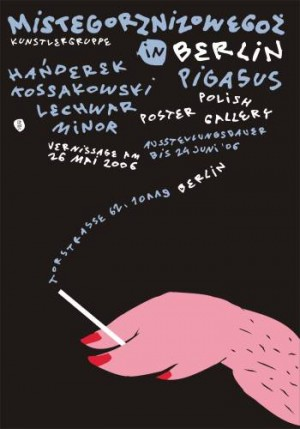 Mistegorznizowegoż Posters Stefan Lechwar Polnische Plakate