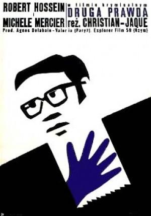 Untreue Geliebte Christian-Jaque Jerzy Treutler Polnisches Filmplakat