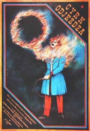 Zirkus fährt weiter Krzysztof Wierzbiański Janusz Obłucki Polnische Plakate