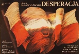 Desperation Zbigniew Kuźmiński Janusz Obłucki Polnische Plakate
