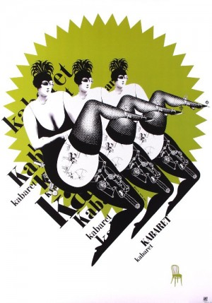 Kabaret Bogna Otto-Wegrzyn Polnisches Plakat