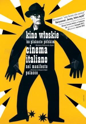 Italienisches Kino Elżbieta Chojna Polnisches Plakat