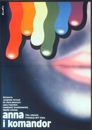 Als Du da warst Romuald Socha Polnische Plakate