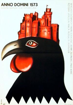 Bauernaufstand anno domini 1573 Romuald Socha Polnische Plakate