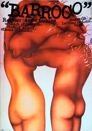 Barocco - Mord um Macht Romuald Socha Polnische Plakate