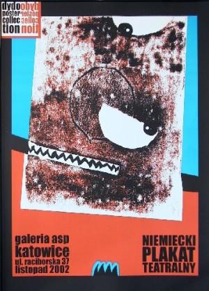 Deutsches Theaterplakat Monika Starowicz Polnische Plakate