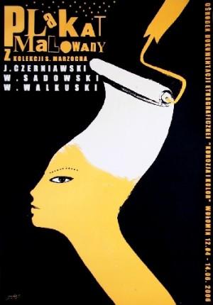 Gemalte Plakat aus der Sammlung Marzoch Monika Starowicz Polnische Plakate