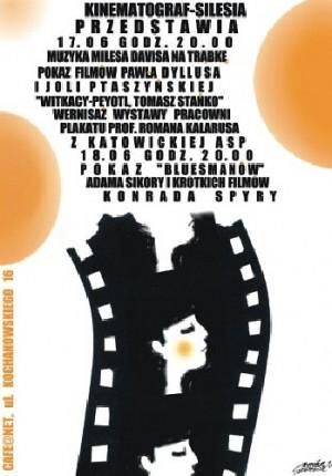 Kinematograf - Silesia Monika Starowicz Polnische Plakate