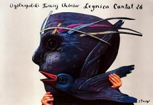Legnica Cantat 26 Stasys Eidrigevicius Polnisches Musikplakat