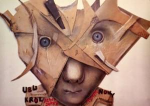 König Ubu Stasys Eidrigevicius Polnische Plakate