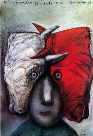 Bluthochzeit Lorca Stasys Eidrigevicius Polnische Plakate