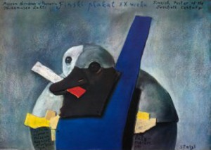 Finnische Plakat des 20. Jahrhundert Stasys Eidrigevicius Polnische Plakate