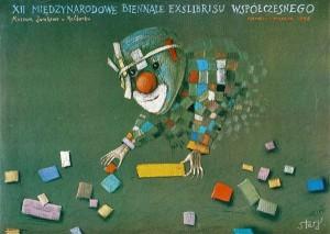 Exlibrisbiennale Malbork 12. Stasys Eidrigevicius Polnische Plakate