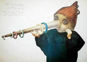 Puppentheaterspiele Puławy 21.  Stasys Eidrigevicius Polnische Plakate