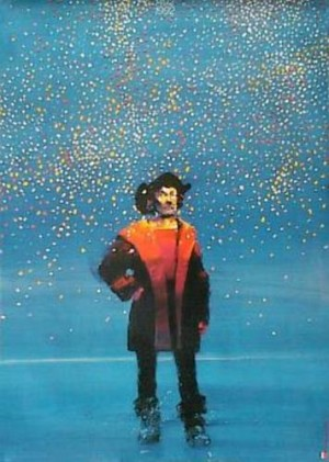 1492-1992 Waldemar Świerzy Polnisches Ausstellungsplakat