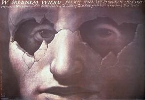 Ärztin Qimin Wang Wiesław Wałkuski Polnische Plakate