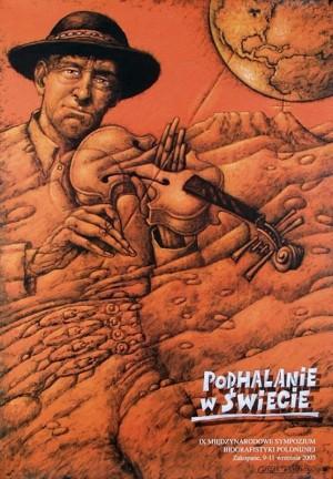 Goralen in der Welt, Symposium Leszek Wiśniewski Polnisches Plakat