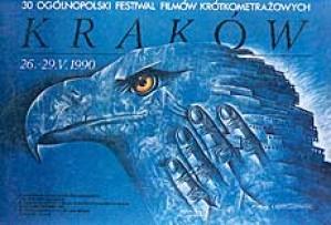 Kurzfilmfestival Leszek Wiśniewski Polnisches Filmplakat
