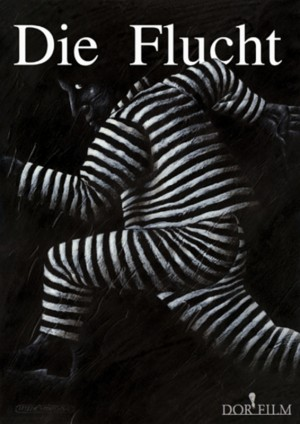 Flucht Leszek Wiśniewski Polnisches Filmplakat