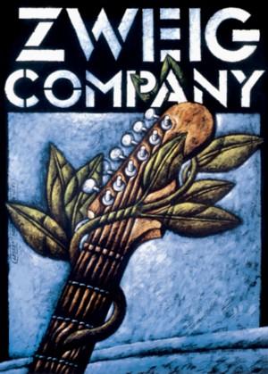 Zweig Company Leszek Wiśniewski Polnisches Plakat