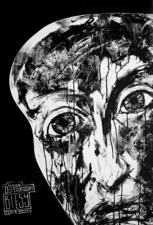 Dämonen Fjodor Dostojewski  Polnische Plakate