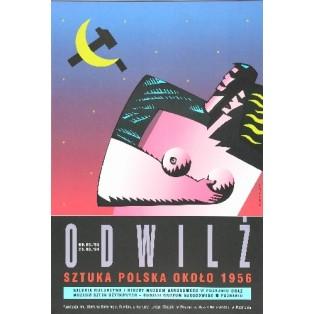 Tauwetter Mirosław Adamczyk Polnische Ausstellungsplakate