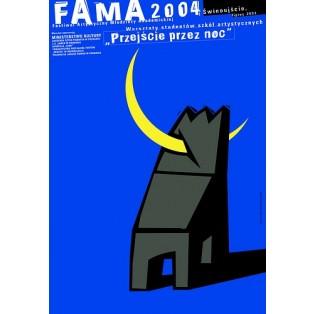 Fama 2004 Mirosław Adamczyk Polnische Plakate