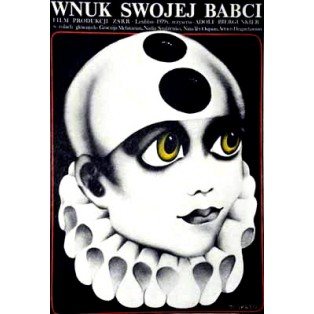 Omas Enkel Adolf Bergunker Danuta Baginska-Andrejew Danka Polnische Filmplakate