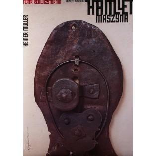 Hamletmaschine Heiner Müller Tomasz Bogusławski Polnische Theaterplakate