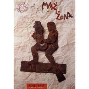 Mann und Frau Tomasz Bogusławski Polnische Theaterplakate