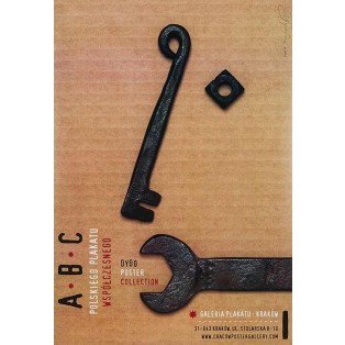 ABC des polnischen Plakats - Ausstellung Tomasz Bogusławski Polnische Ausstellungsplakate