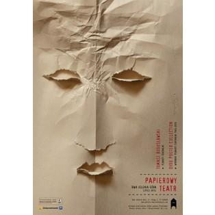Papiertheater Tomasz Bogusławski Polnische Ausstellungsplakate