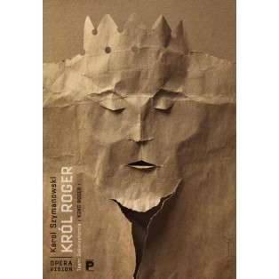 König Roger Karol Szymanowski Tomasz Bogusławski Polnische Opernplakate