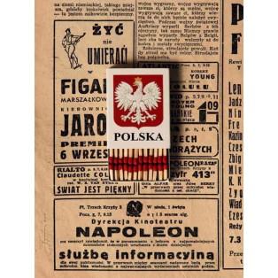 Polen Polska Tomasz Bogusławski Polnische Plakate