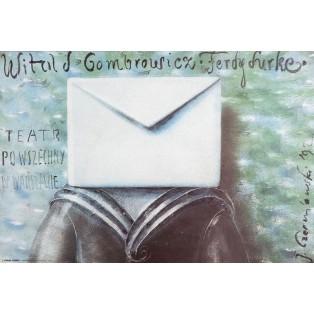 Ferdydurke Witold Gombrowicz Jerzy Czerniawski Polnische Theaterplakate