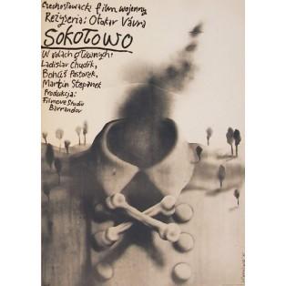 Sokolowo Otakar Vavra Jerzy Czerniawski Polnische Filmplakate