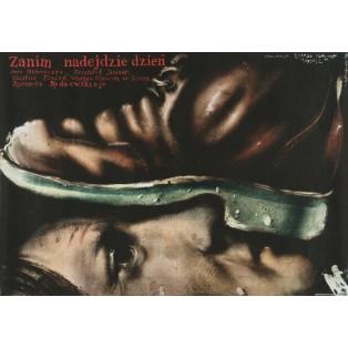 Ehe der Tag beginnt Ryszard Rydzewski Jerzy Czerniawski Polnische Filmplakate