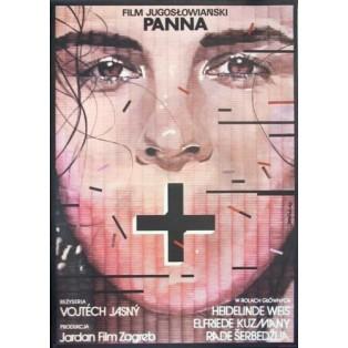 Fräulein Vojtech Jasny Lex Drewinski Polnische Filmplakate