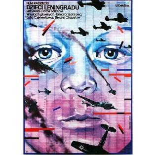 Leningrader - Meine Kinder Damir Salimov Lex Drewinski Polnische Filmplakate